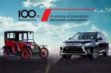 Modele în ediție limitată pentru aniversarea a 100 de ani a lui Mitsubishi
