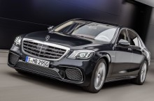 Mercedes-AMG S 65, anthrazitblau ;Kraftstoffverbrauch kombiniert: 11,9 l/100 km, CO2-Emissionen kombiniert: 279 g/km  Mercedes-AMG S 65, anthracite blue; Fuel consumption combined:  11,9 l/100 km; Combined CO2 emissions: 279 g/km