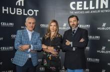 OPEN Dragos Nicolae (Cellini)-Simona Halep-Benoit Lecigne (Hublot)