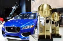 """Jaguar F-PACE câștigă titlurile """"Mașina Anului 2017""""și """"Cel mai bun design"""""""