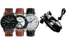 Morgan prezintă prima sa colecție de ceasuri