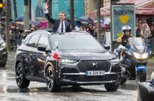DS 7 CROSSBACK intră în serviciul Președintelui Emmanuel Macron