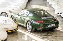 VIDEO: Exemplarul Porsche 911 cu numărul 1 milion a fost produs la Zuffenhausen