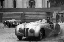 BMW  328 in MP Brasov 1940