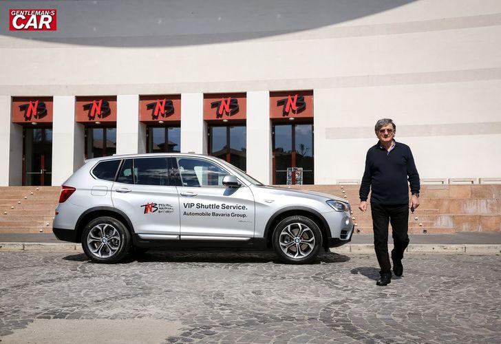 Ion Caramitru și BMW X3: Vehiculul emoției