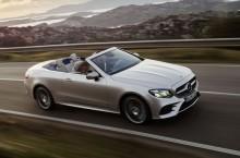 Noul Mercedes-Benz Clasa E Cabrio este disponibil în România de la la 54.228 de euro
