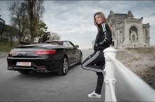 Simona Halep conduce un Mercedes-AMG S63 4MATIC Cabriolet pe durata sezonului cald