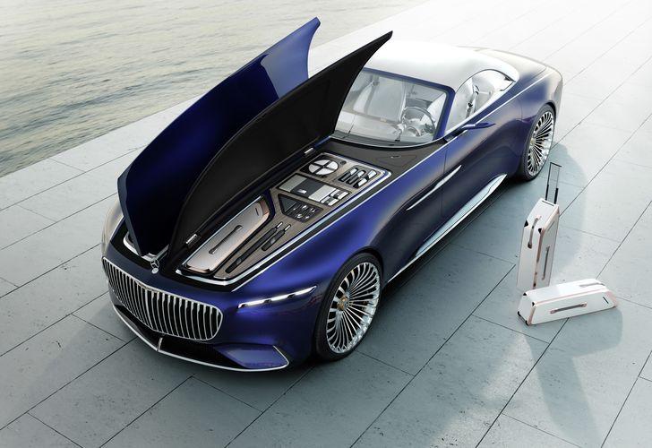 Superlativul are un sinonim: Vision Mercedes-Maybach 6 Cabriolet