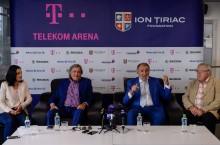 patinaorul Telekom Arena - Ion Tiriac, Ilie Nastase, Ruxandra Voda, Eduard Pana