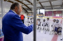 patinaorul Telekom Arena - Ion Tiriac, echipa Dedeman