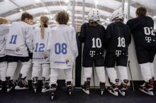 patinaorul Telekom Arena - echipe juniori Telekom si Dedeman