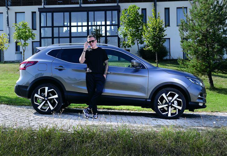 Petre Fumuru și Nissan Qashqai: Mobilitate inteligentă