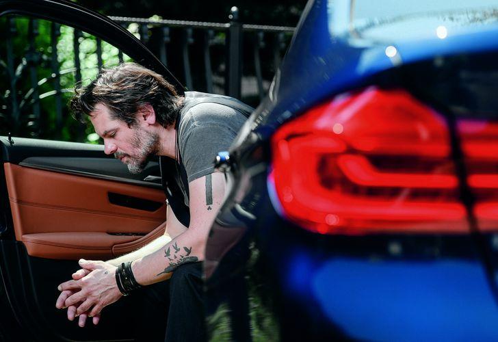 Florin Piersic jr. și BMW 530i xDrive: Tovarăși de drum