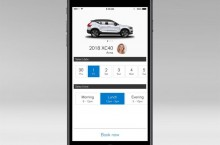 New Volvo XC40 - Volvo On Call, car sharing, guest