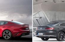 Noul Kia Stinger vs VW Arteon