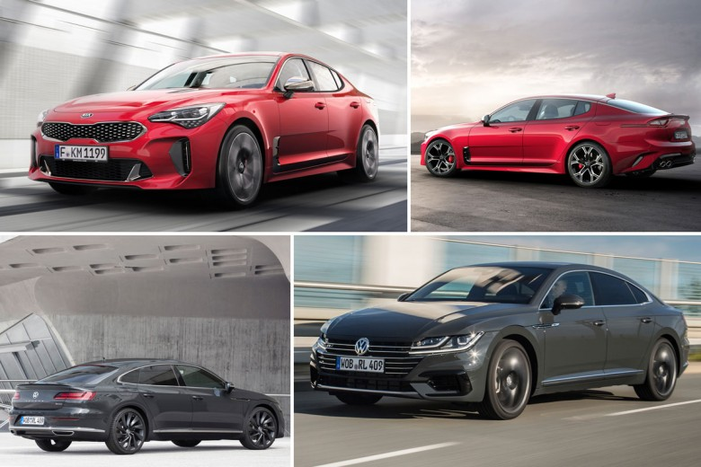 Noul Kia Stinger vs VW Arteon: pe cine ai alege?