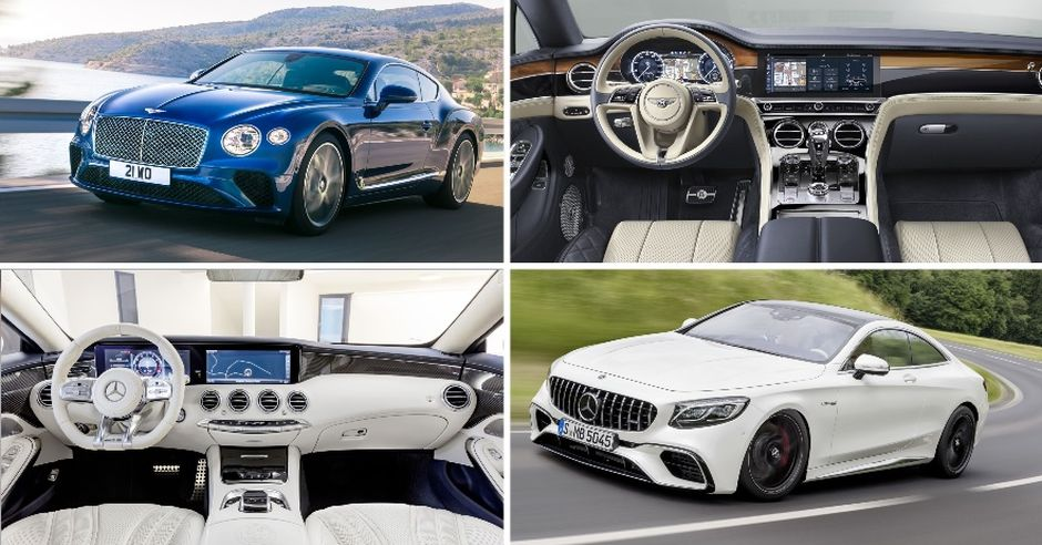 bentley continental Gt vs Mercedes amg S65 Coupe