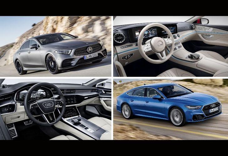 Mercedes-Benz CLS versus Audi A7 Sportback – Duelul noilor coupe-uri de lux cu 4 uși