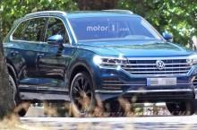 Viitorul Volkswagen Touareg, surprins necamuflat