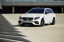 Mercedes-AMG E 63 4MATIC+ T-Modell und E 63 S 4MATIC+ T-Modell; S 213, 2016