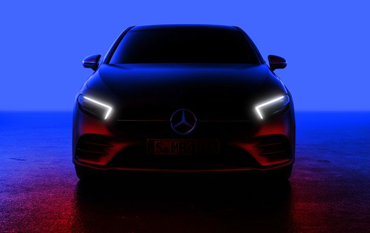 Die neue Mercedes-Benz A-Klasse – Weltpremiere am 02. Februar The new Mercedes-Benz A-Class – World Premiere 2nd February