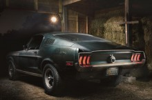 Original 1968 Mustang from movie Bullitt in Sean's secret barn in Nashville