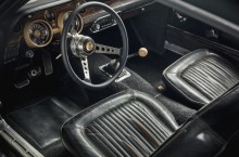 Original 1968 Mustang from movie Bullitt - interior 1
