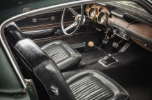 Original 1968 Mustang from movie Bullitt - interior 2