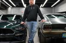 Sean Kiernan - owner of 1968 Mustang from movie Bullitt