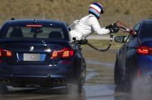 VIDEO: BMW stabileşte două recorduri mondiale pentru drifting cu noul BMW M5