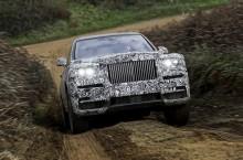 Primul SUV Rolls-Royce se va numi Cullinan