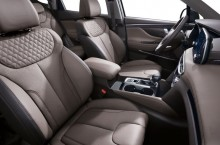 New Generation Hyundai Santa Fe Interior (1)