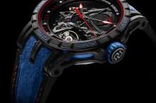 Roger Dubuis Excalibur Aventador S Blue 3