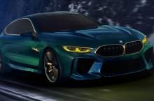 BMW M8 Gran Coupé Concept îi ia în țintă pe Audi A7 și Mercedes-Benz CLS