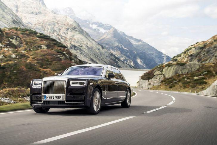 Rolls-Royce Phantom VIII Photo: James Lipman / jameslipman.com