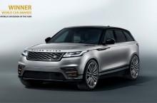 Range Rover Velar a câștigat titlul de cea mai frumoasă mașină din lume