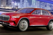Surpriză! Vision Mercedes-Maybach Ultimate Luxury e un SUV cu format de sedan