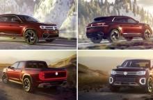 Volkswagen Atlas Cross Sport și Atlas Tanoak vizează piața din SUA