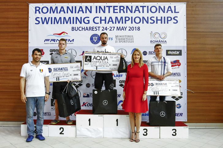 Mercedes-Benz - Campionatele Internationale de Inot ale Romaniei (1)