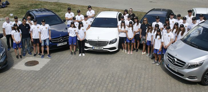 Mercedes-Benz - Campionatele Internationale de Inot ale Romaniei (4)