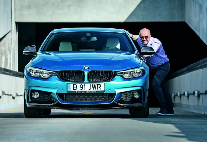 Mihai Dobrovolschi și BMW Seria 4 Coupé: Micile bucurii