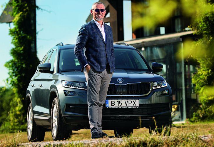 Vlad Petreanu și Škoda Kodiaq: Pe frecvențe înalte