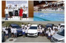 Sincron perfect între Mercedes-Benz România și Federația Română de Natație și Pentatlon Modern