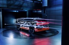 Streamline: Audi e-tron prototype  with decisive aerodynamics