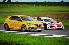 Exerciții cardio cu noul Renault Megane R.S. pe circuitul Motorpark