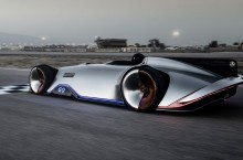 Mercedes-Benz Vision EQ Silver Arrow – Puntea electrică între trecut și viitor