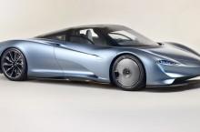VIDEO: McLaren Speedtail – O lacrimă din carbon, care alunecă pe șosea cu 403 km/h