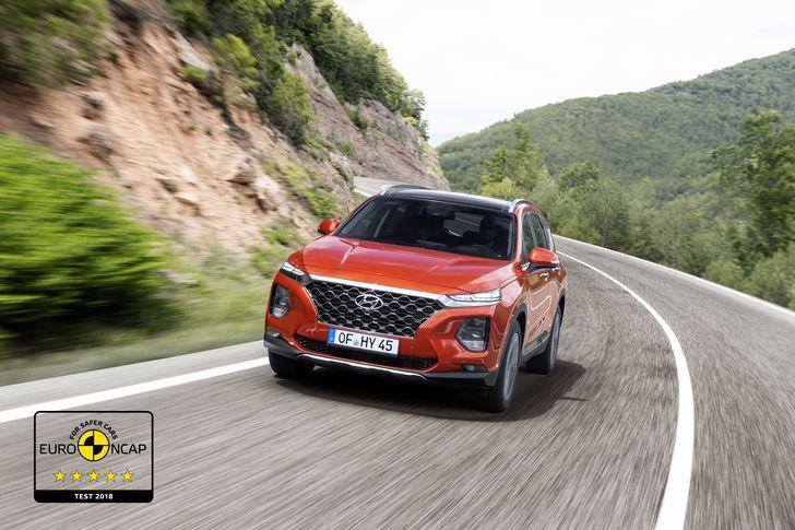 Hyundai Santa Fe Euro NCAP