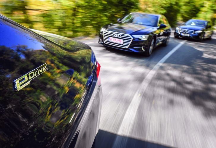 Test Drive: Audi A6 50 TDI vs. Mercedes-Benz E350 d vs. BMW 530e – Business casual