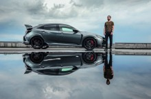 Dani Oțil și Honda Civic Type-R: Sportul civic